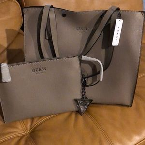 Guess ladies handbag and wallet